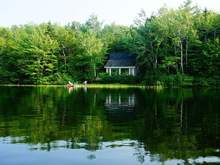 Our Cottage On Levenseller Pond Is A Tranquil Retreat Set In Pristine Nature.