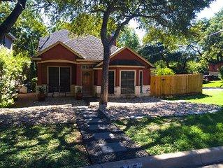 Large Zilker Home- Downtown, SOCO, Barton Springs, ACL, SXSW, Weekend Getaway!
