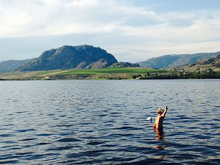 Gorgeous Private Lakefront Cottage- Osoyoos BC