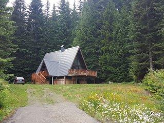 Private Alpine Modern A-Frame in Hyak Estates