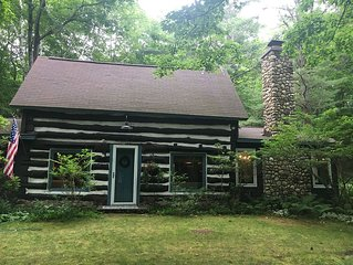 100 Year Old Historical Cabin in Good Hart/Tunnel of Trees Private Beach Access!