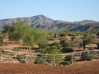 Western Casita on 62 acres in heart of Sonoran De