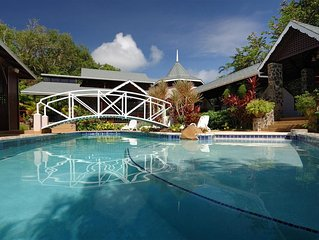 Exclusive boutique hotel in charming Bequia