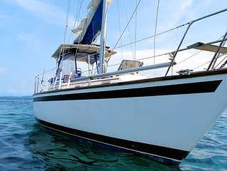 Panama trip aboard a 40ft. Sailboat. Caribbean All-Inclusive Private charter.