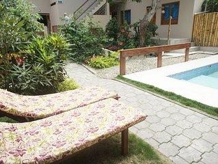 Double Bed + Sofa bed + A/C + HDTV + Fridge + Breakfast + more * Rincón D'Olón