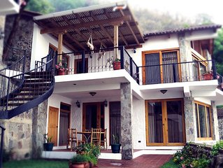 Atitlan Villas, A Sanctuary Of Peace And Natural Luxury And Stunning Beauty.