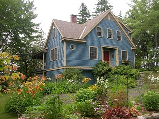 New Listing:Charming Waterfront House,Private 5 Acres,Float, Kayaks,Dinghy,Wifi