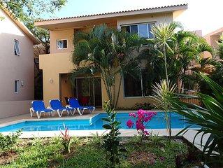 La Salamandra : Private House With Swimming Pool Near Caribbean Sea And Golf