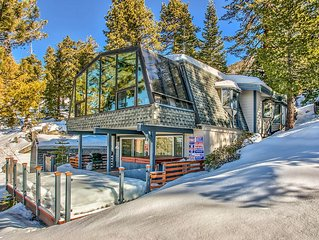Modern Cabin, Panoramic Lake Tahoe Views, * Heavenly Ski Slopes, Near State line