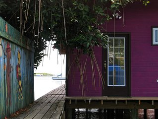 Purple House 2  - Over The Water Rentals - 2 Bedroom Home