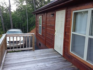 Great Small  Cozy Cabin!!!     See info below about the scholarship fund for WCU
