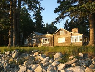 Ocean-Side Cabin In Down-East Maine Surrounded by Wildlife Refuge