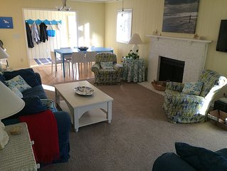 Family Friendly Beach House. Light, open and sunny. Very close beach access.