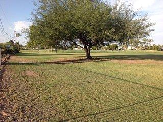 Wonderful Golf View! Golf Course Home, 2 blocks from Fairway recreation center.