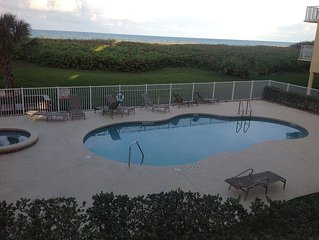 Oceanfront Condo Right on Fabulous Ft Pierce Beach