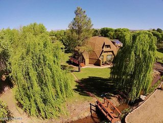 5BR Country Home  AZ Wine Country-Perfect Reunion Space, close to Sedona