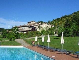Country villa near Siena in the heart of Tuscany