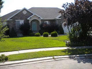 Private Home In Beautiful Heber Valley. Near Summer And Winter Recreation.