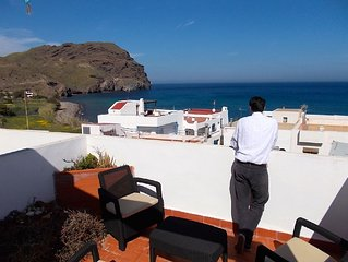 Jaw Dropping Sea Views, Roof Terrace, 60 Seconds From The Beach, Bars Restaurant