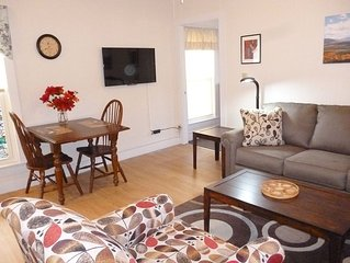 Comfortable And Convenient; Fully Equipped 2nd Floor Downtown Apartment