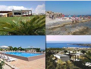 Villa in Sicilia, a Brucoli di Siracusa con vista Etna-mare vicino alla spiaggia