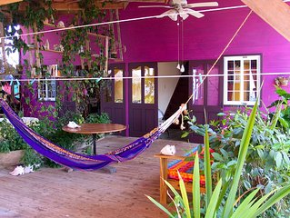 Purple House 1 - Over The Water Rentals - 2 Bedroom Home