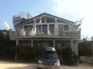 Barnegat Light 2nd from beach- bright, open 3 BR 1.5 BA with ocean views!