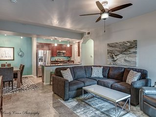 Beautiful, BRAND NEW modern 3BR condo just steps from pool