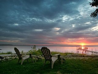 Waterfront+Grill+Campfire+S'mores+Sunsets = Starboard Cottage