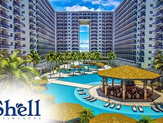 1 Bedroom 5 Star Condo Hotel Across MOA - Shell Residences Tower A, Unit 1130