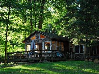 Make memories at this beautiful, comfortable northwoods retreat.