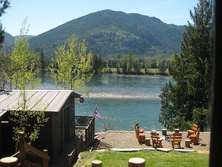 WATERFRONT !! North Idaho just outside of Sandpoint on the Clark Fork river.