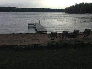 Cabin on a lake in Motley, Minnesota