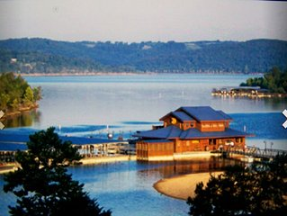 The 40 acre Wilderness Club at Big Cedar Resort is 10 mi south of Branson!