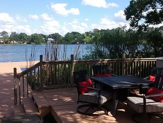 Clean, comfortable 3 bedroom 2 bath lakefront hom