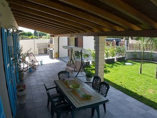 Sicilian Villa, Pet-friendly with full of comfort near the Beach.