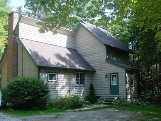 LARGE BEAUTIFUL COTTAGE IN SECLUDED AREA WILMINGTON VT CHIMNEY HILL VERMONT