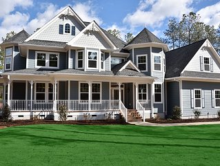 STEEPLECHASE RENTAL ~ 4 Bedroom Victorian Home With Inground Pool On Golf Course