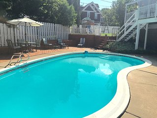 3000+ Sq Ft 5/6 Bed, 3 Bath 1880's Carriage House, In-Ground Pool, Central A/C
