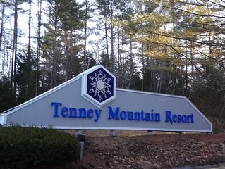 Slope Side, Tenney Mt Condo, Sleeps 7