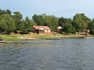 The Cottages of LaCloche Lake Camp. 4 fully equipped cottages to choose from