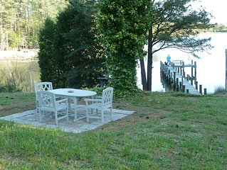 Secluded Waterfront Cottage Near Chesapeake Bay for 2, Pool, Kayak, Canoe, Crabs