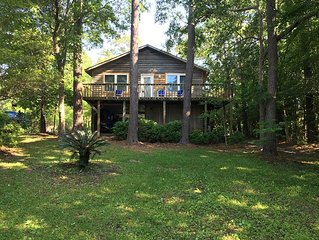 Creek Front 3 Bedrooms 2 Full Baths. 15 Min From Topsail/ Surf City Beaches