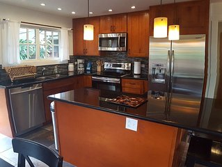 NEW! 2+ bedroom house- only 2 houses from Waimanalo Beach!