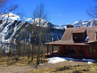 Colorado Rockies Mountain Luxury Family Compound in Marble CO near Aspen