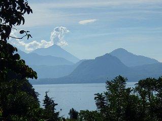 Casita Quetzal, Lake N Volcanoes View, Deck,2 Bdrm, 2 Bth, 200 M To Lake