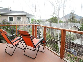 Amazing views, quiet location, walking distance to downtown, easy access to 101