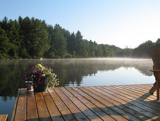 Chalet / Cottage On Lac Maskinnonge - Val Des Monts 40 Minutes From Ottawa