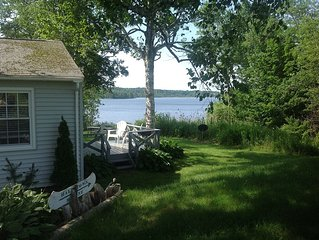 Private, peaceful Maine waterfront home near shops, nature
