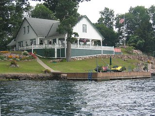 1000 Islands Great Camp Island Retreat available for the 2020 rental season